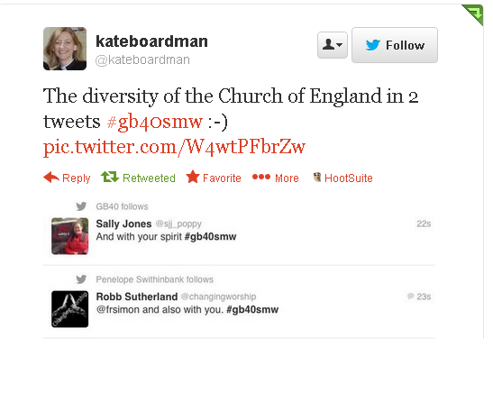 Twitter   kateboardman  The diversity of the Church ...