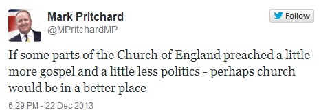 MPritchard MP - More Gospel, Less Politics