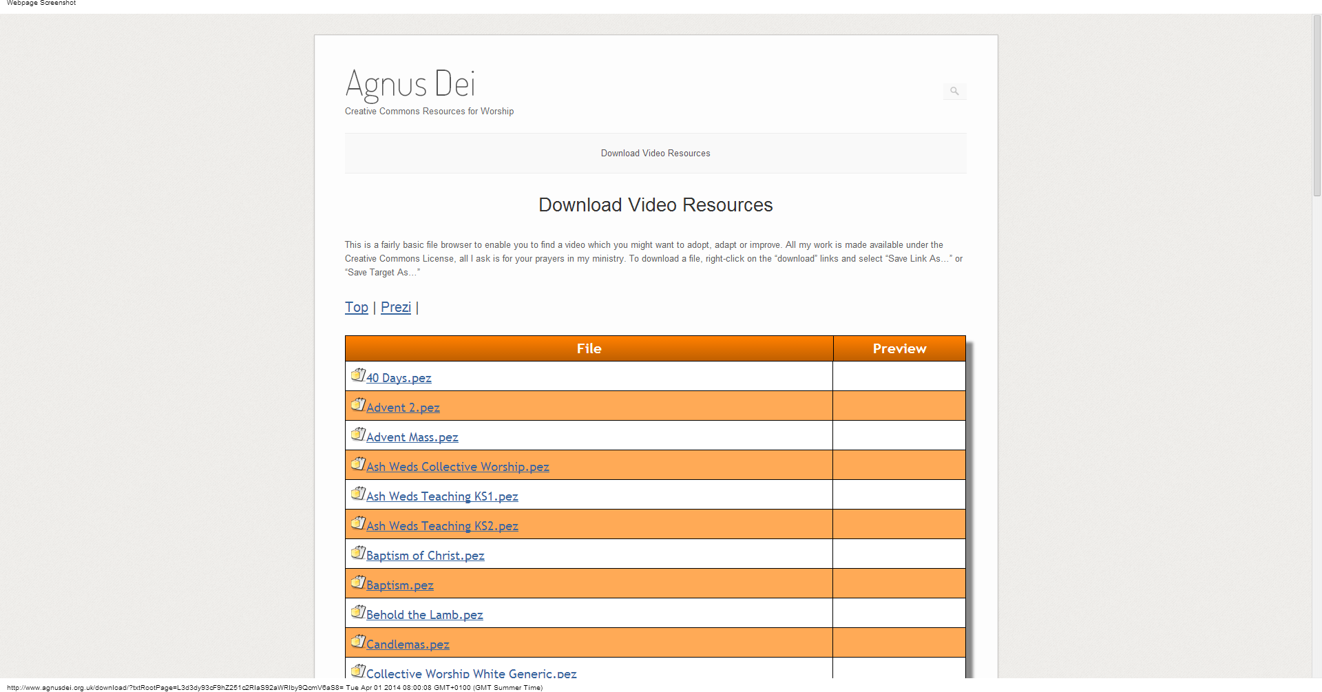 Download Video Resources   Agnus Dei